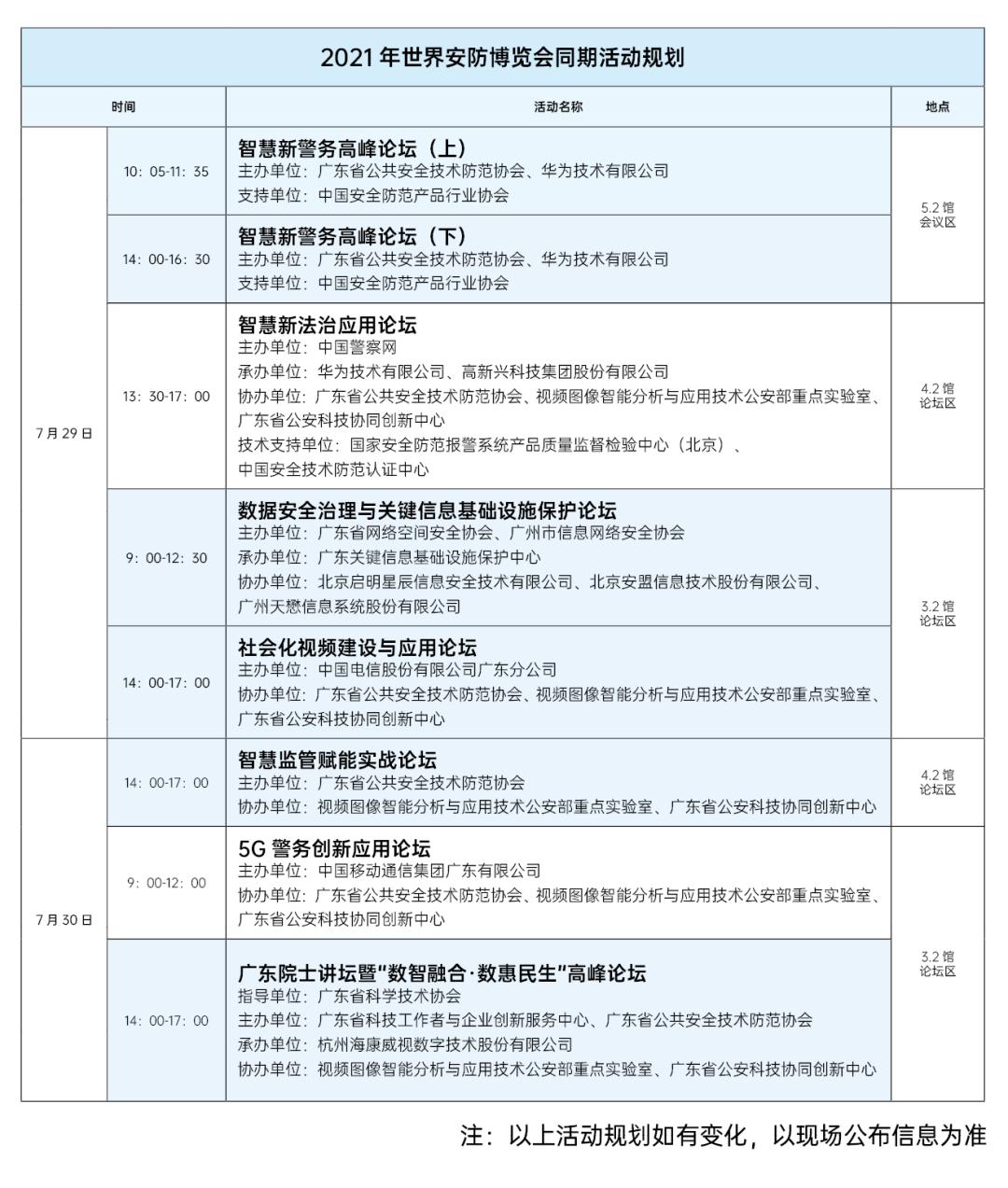 2021世界安防博览会于7月29-31日在广交会展馆拉开大幕(图4)